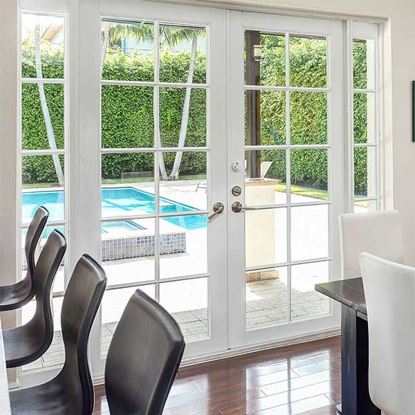 PGT Essential French Door & Classicvue™ Aluminum FD101. PGT Essential French Door