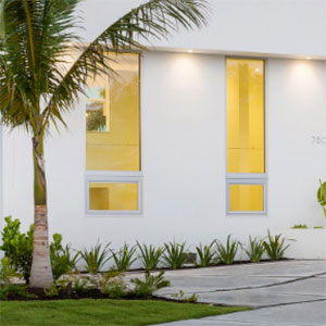 Winguard Aluminum Aw740 Pgt Awning Impact Window Miami